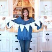 Aunt Ruthie's No Sew Bunting Banner