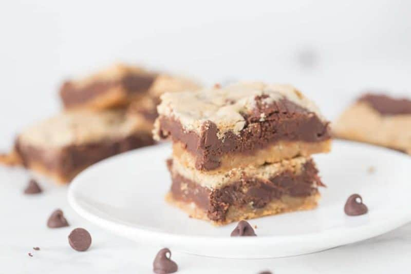 Chocolate Chip Dream Bars - and our first Staycation
