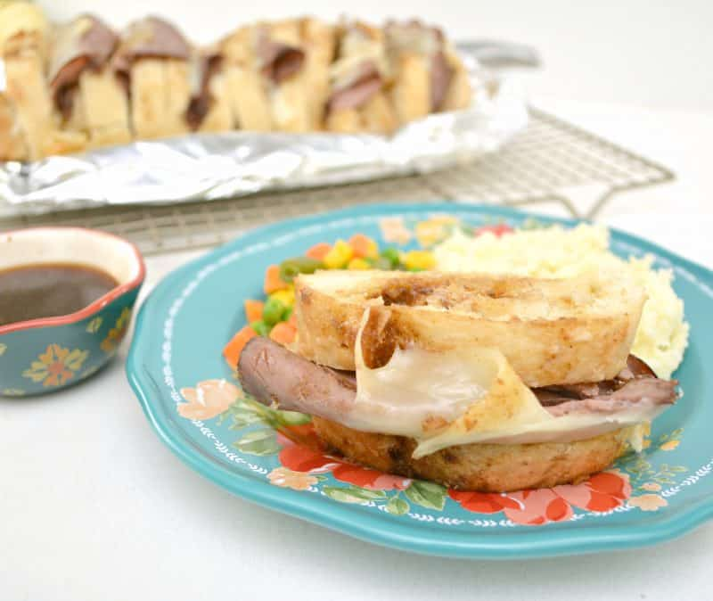 Pull Apart French Dip Sandwiches