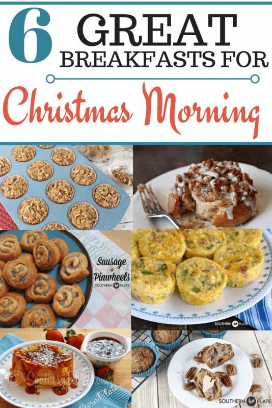 Breakfasts For Christmas Morning