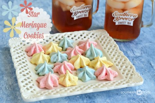 Star Meringue Cookies