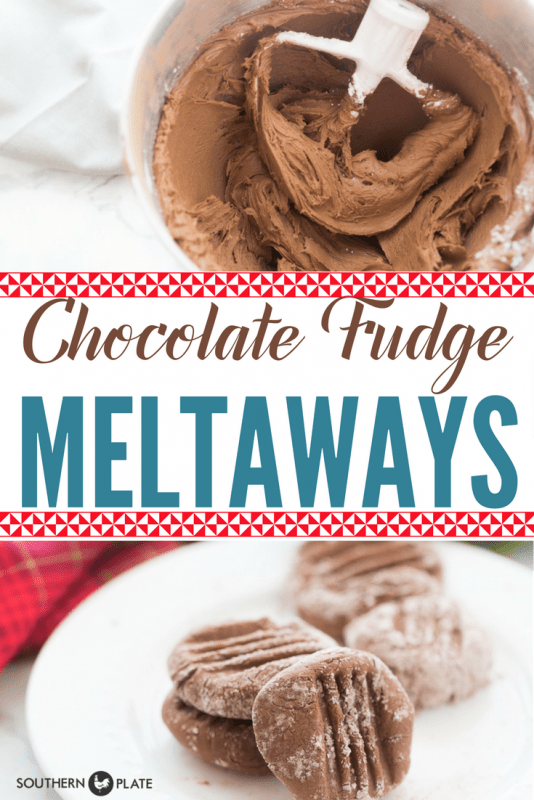 Chocolate Fudge Meltaways