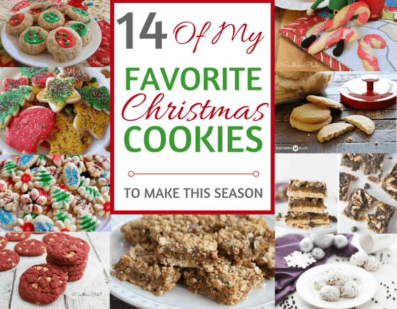 Favorite Christmas Cookies.14 Favorite Christmas Cookie Recipes Southern Plate