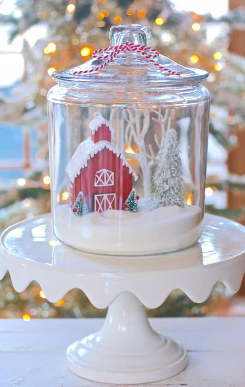 Holly Jolly Christmas Jars Southern Plate