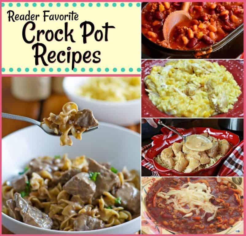 Top 5 Reader Favorite Crock Pot Recipes!