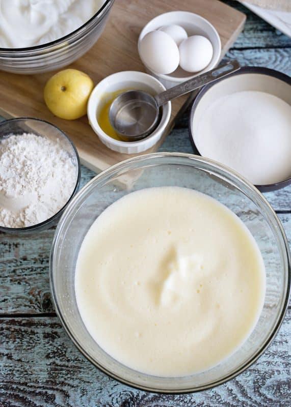 Fluffy Egg Yolks For Grandmama's Wind Cake