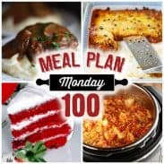 Meal Plan Monday #100