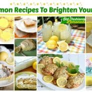 10 Lemon Recipes To Brighten Your Day!