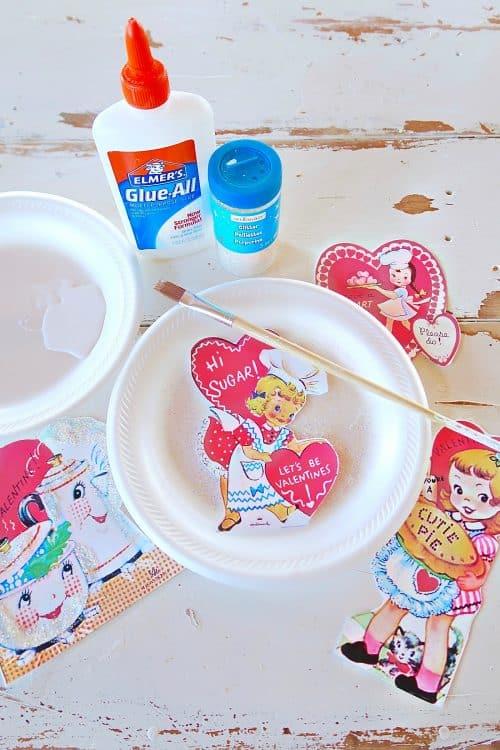 Vintage Valentine Vignette from Sugar Pie Farmhouse!