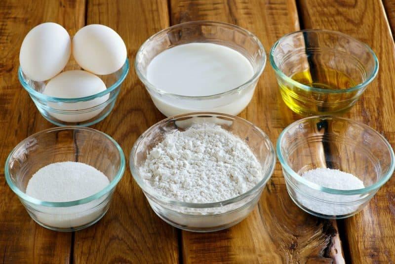 Soft Unleavened Bread Ingredients
