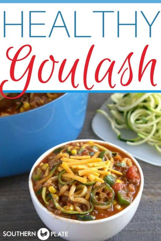 Healthy Goulash!