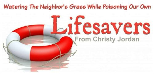 Watering the neighbors grass while poisoning our own
