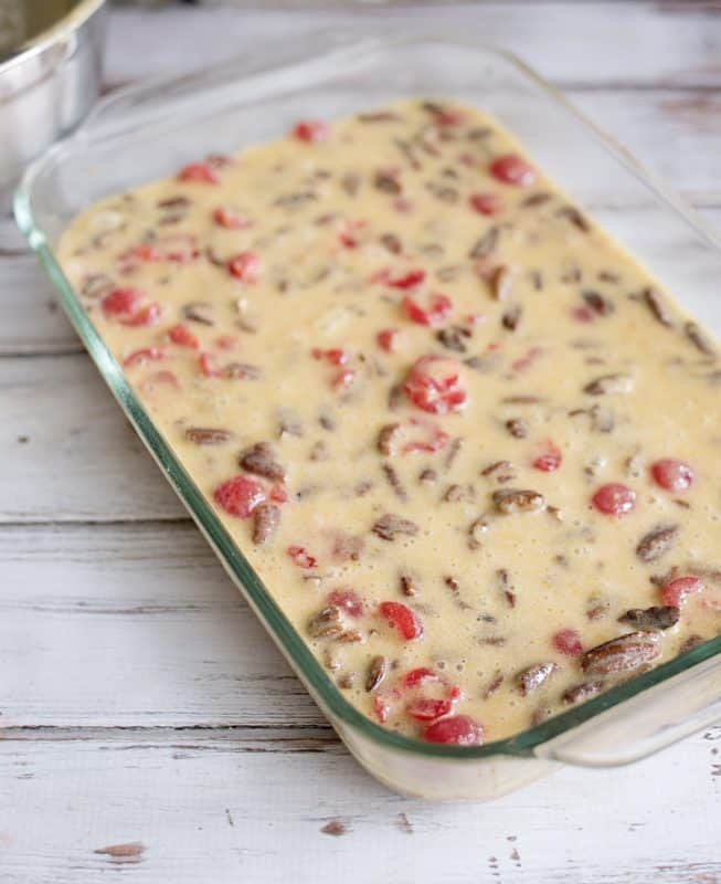 Ooey Gooey Cherry Bars