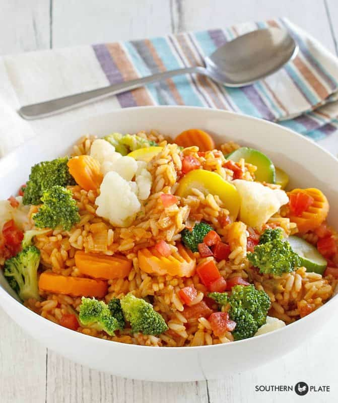 Quick Vegetable Jambalaya