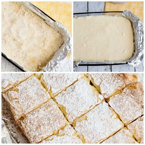 Gooey Butter Bars From Scratch