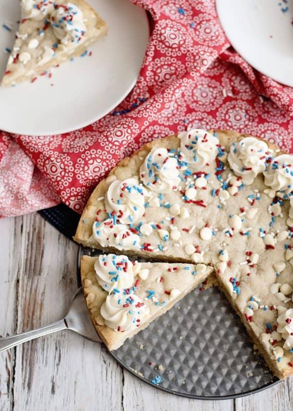 "White Chocolate Chip ""Big"" Cookie"