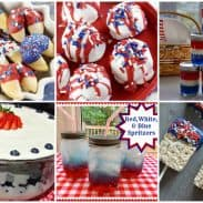 Red, White, and Blue Patriotic Dishes!