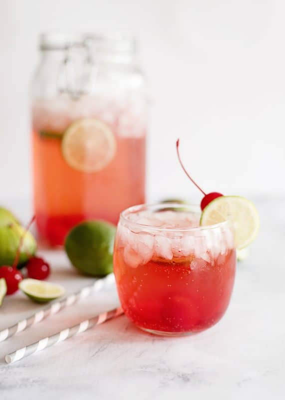 Cherry Limeade - Quick and Fresh!