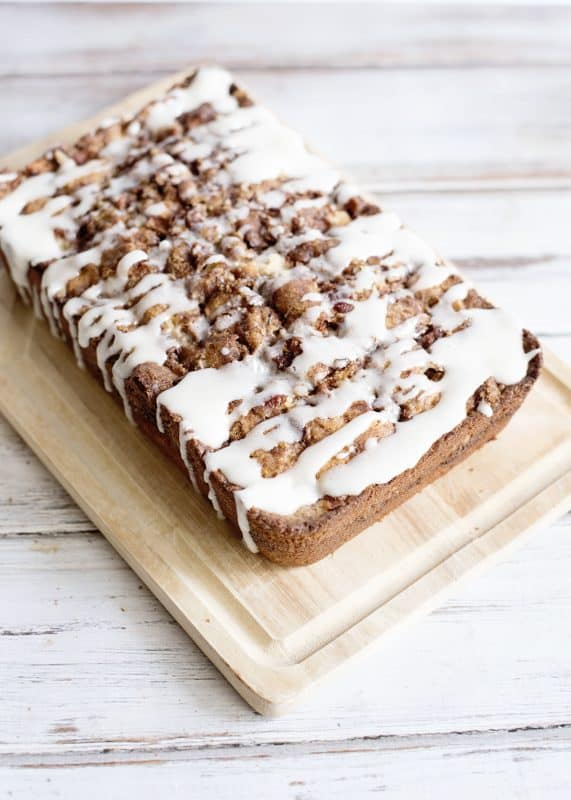 Loaded Apple Bread
