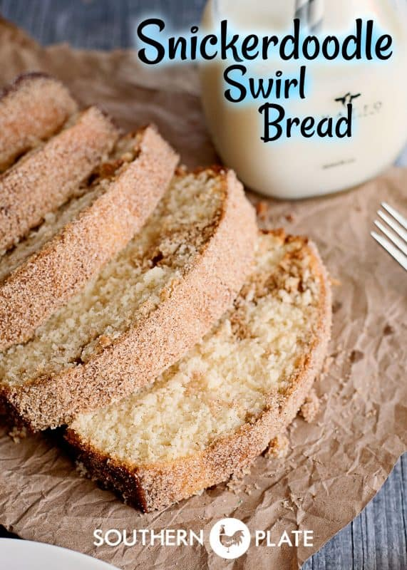 Snickerdoodle Swirl Bread