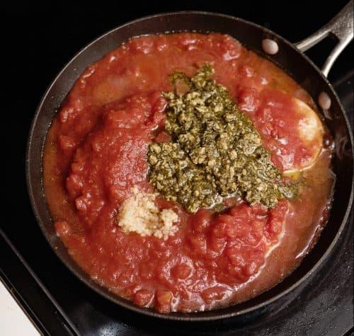 Pesto Chicken & Pasta
