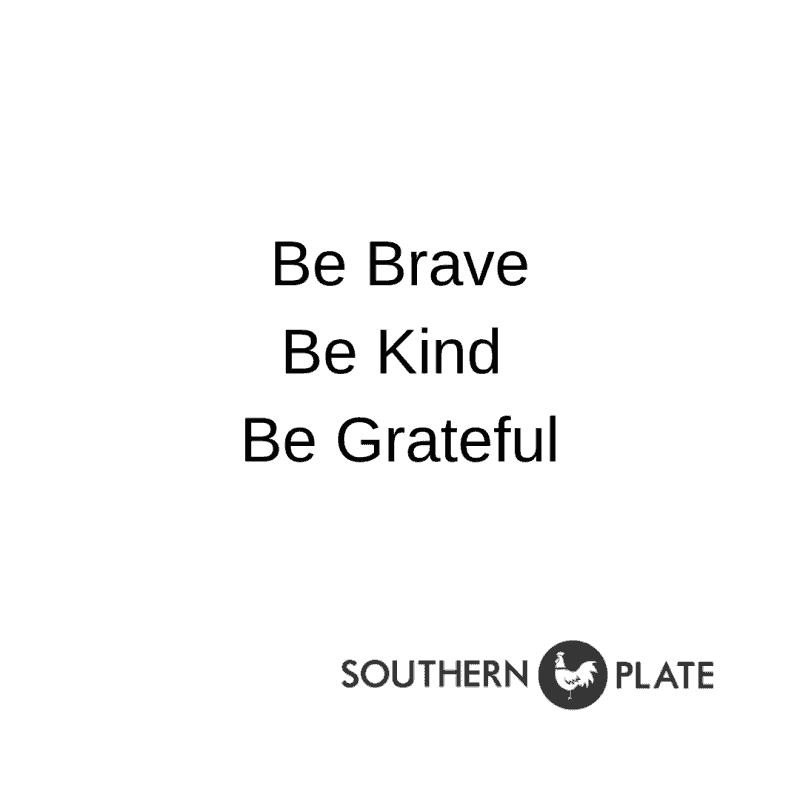 be brave knd grateful SP