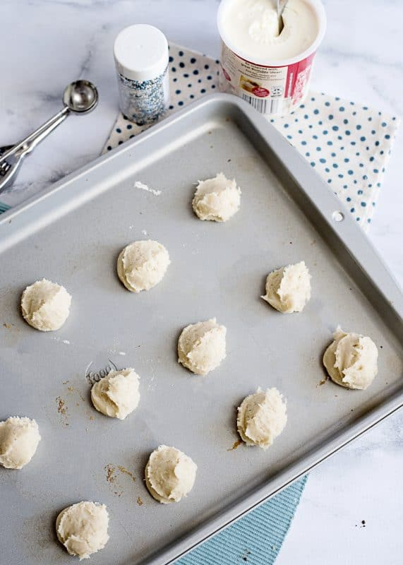 Italian Sugar Cookies - lightly sweet, cake like goodness!