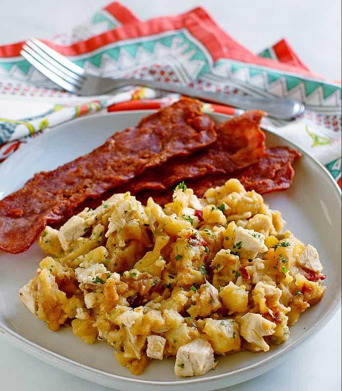 Turkey hash for breakfast