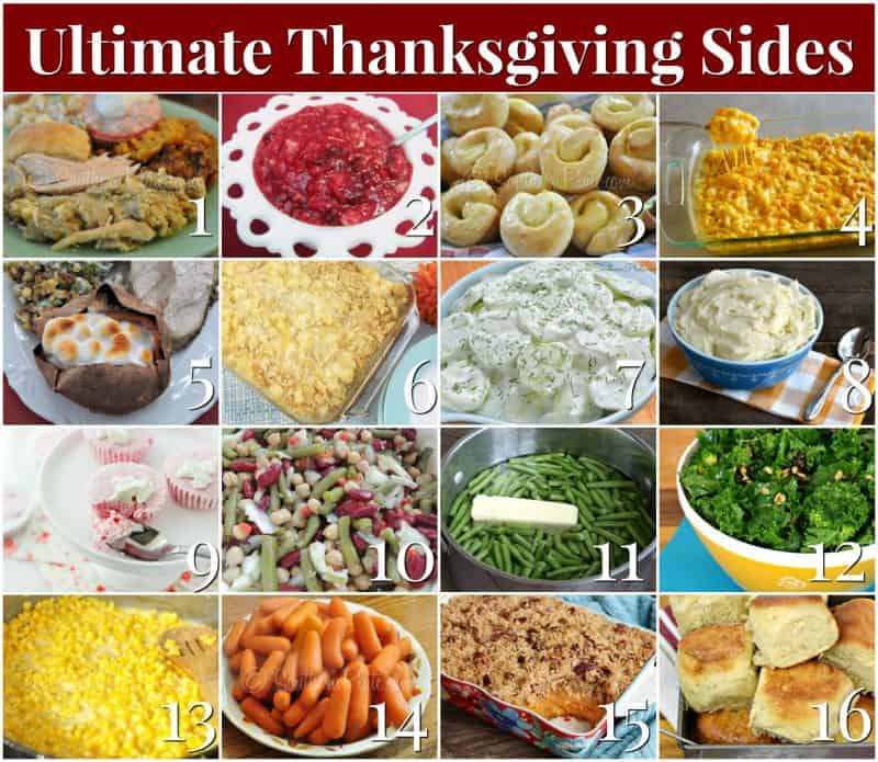 Ultimate Thanksgiving Side Dish Recipes