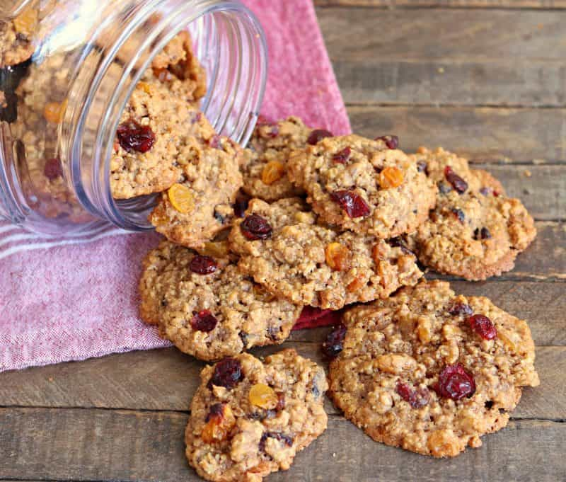Chewy Loaded Oatmeal Cookies