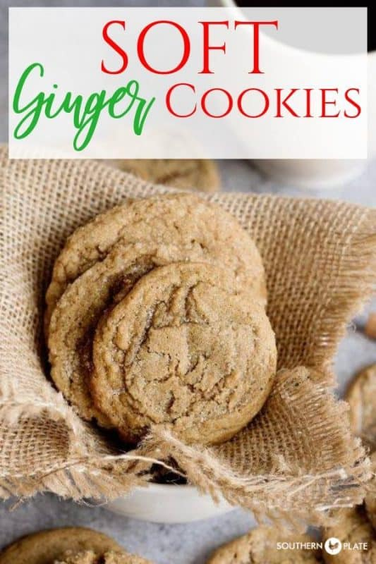 Soft Ginger Cookies - Guaranteed to become an heirloom recipe!