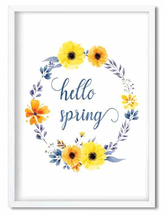 FREE Spring Printable!