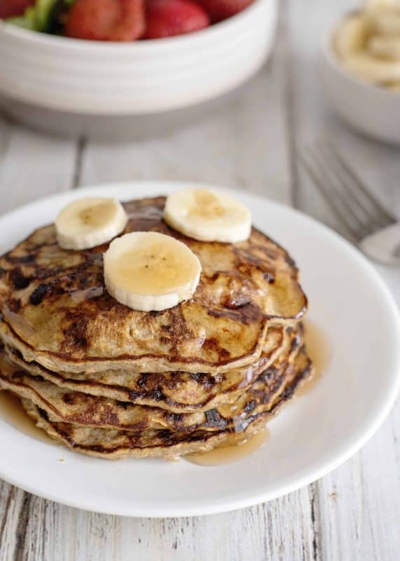 Banana Pancakes- Healthy, Quick, Simple, Delicious!