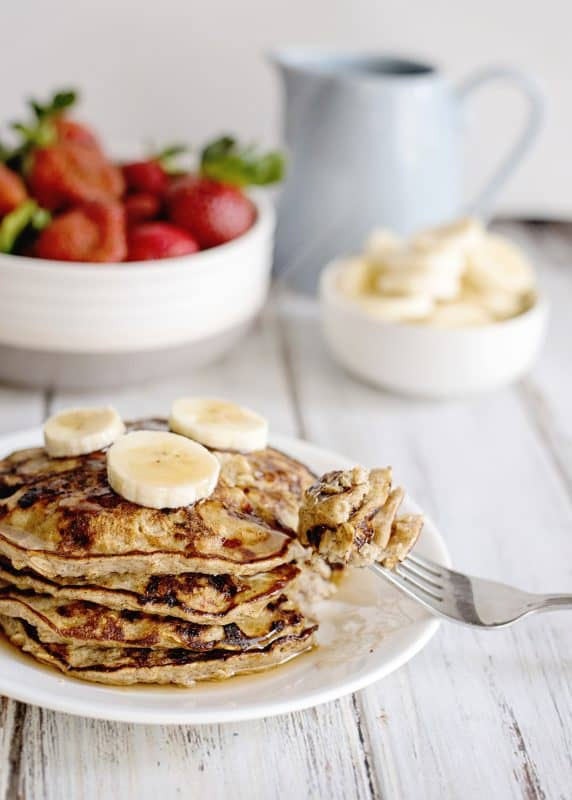 Banana Pancakes - Healthy, Quick, Simple, Delicious!