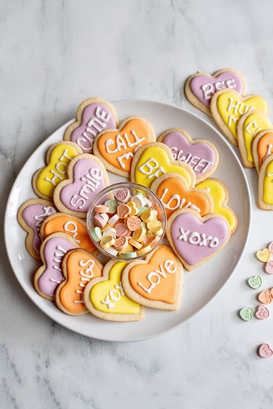 Valentine Be Mine Cookies
