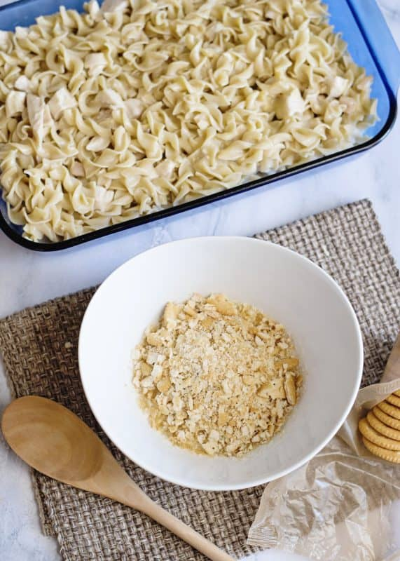 Chicken Noodle Casserole - and 7 tips for picky eaters