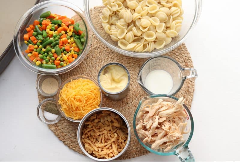 Country Casserole Ingredients