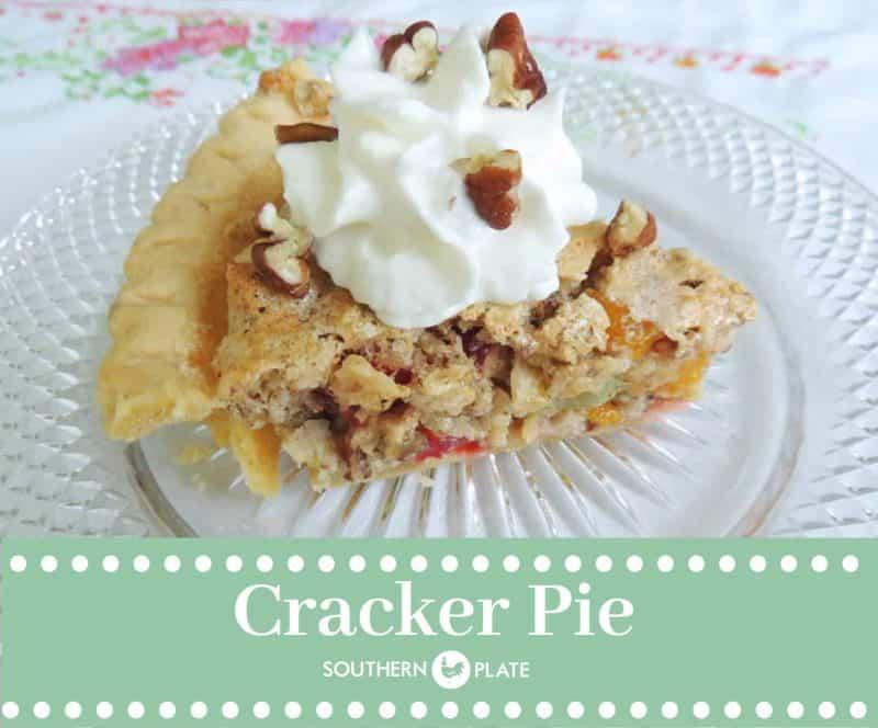 Cracker Pie