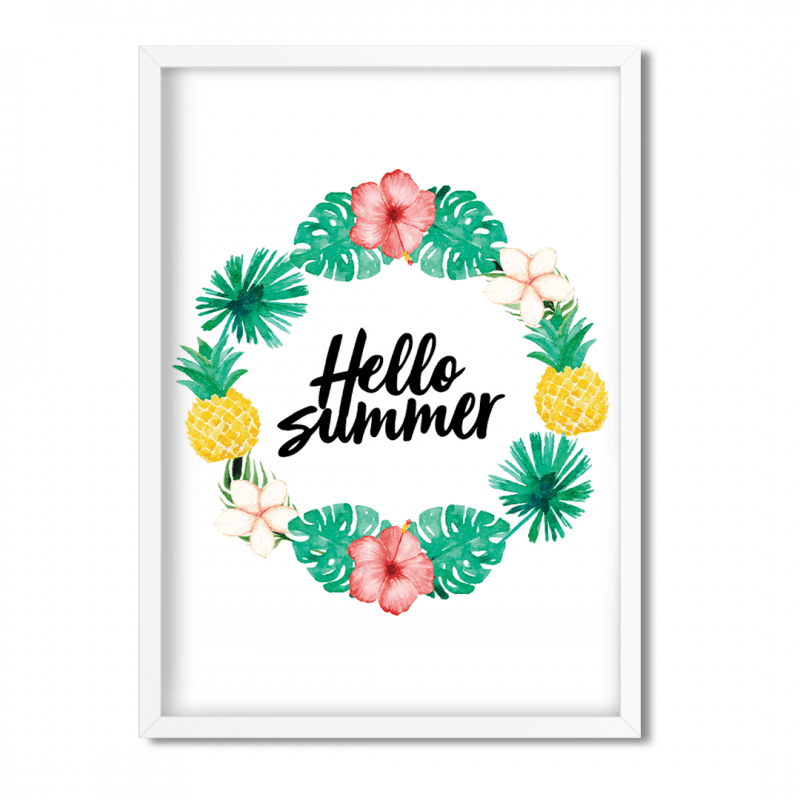 photograph relating to Summer Printable referred to as Good day Summer time Absolutely free Printable - Southern Plate