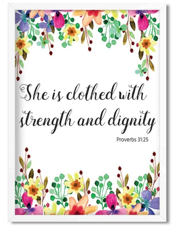 Free Printable Proverbs 31