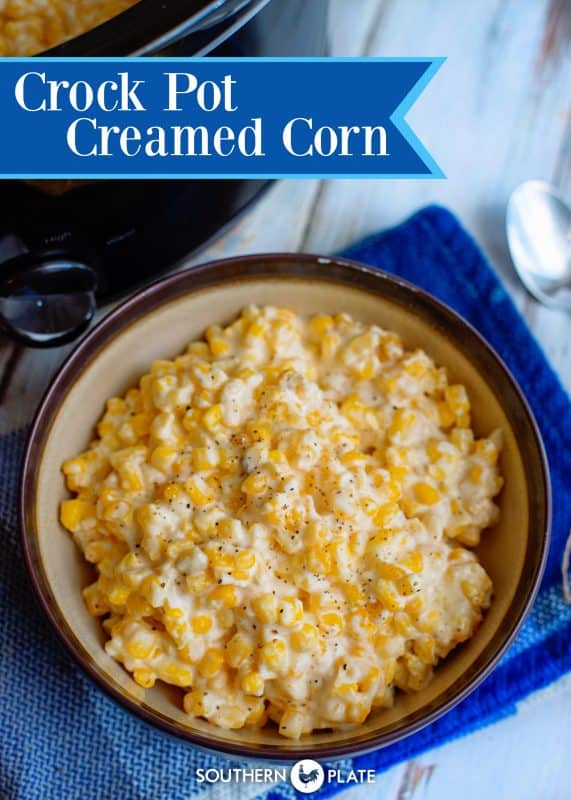 Crock Pot Creamed Corn