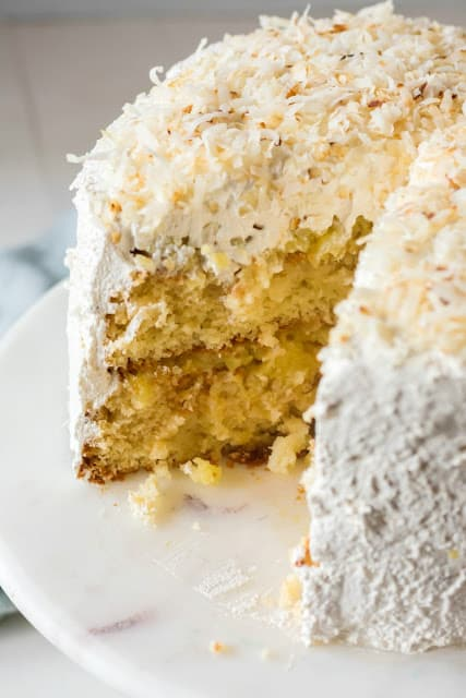 Haleakala cake