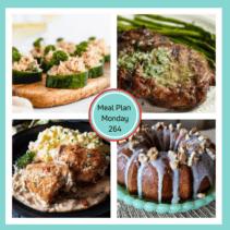 meal plan Monday 264