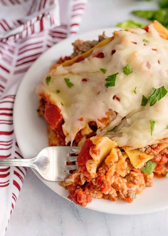Southern Plate's Crock Pot Lasagna