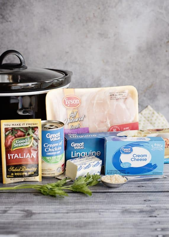 Ingredients for Chicken Tetrazzini- And Changing Our Focus