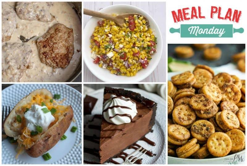 Meal Plan Monday collage