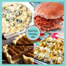 Meal Plan Monday 265