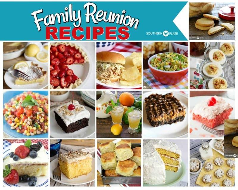 Favorite Family Reunion Recipes
