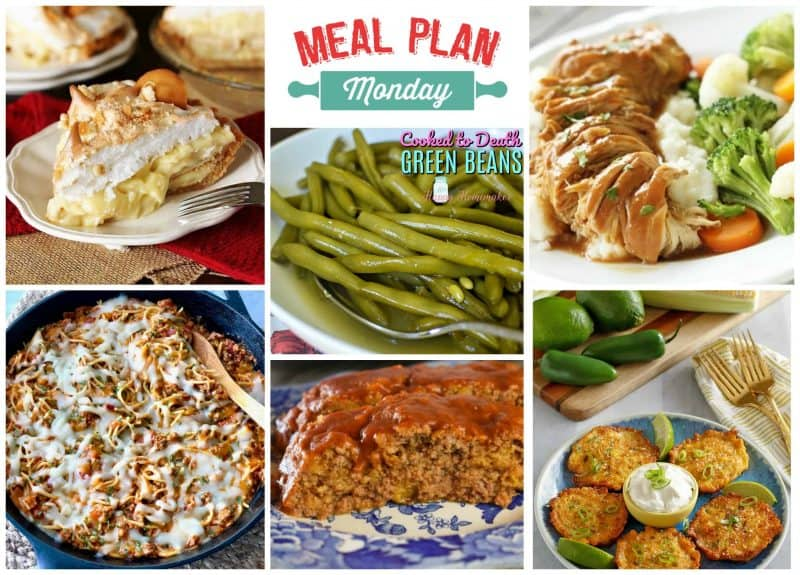 Meal Plan Monday #172