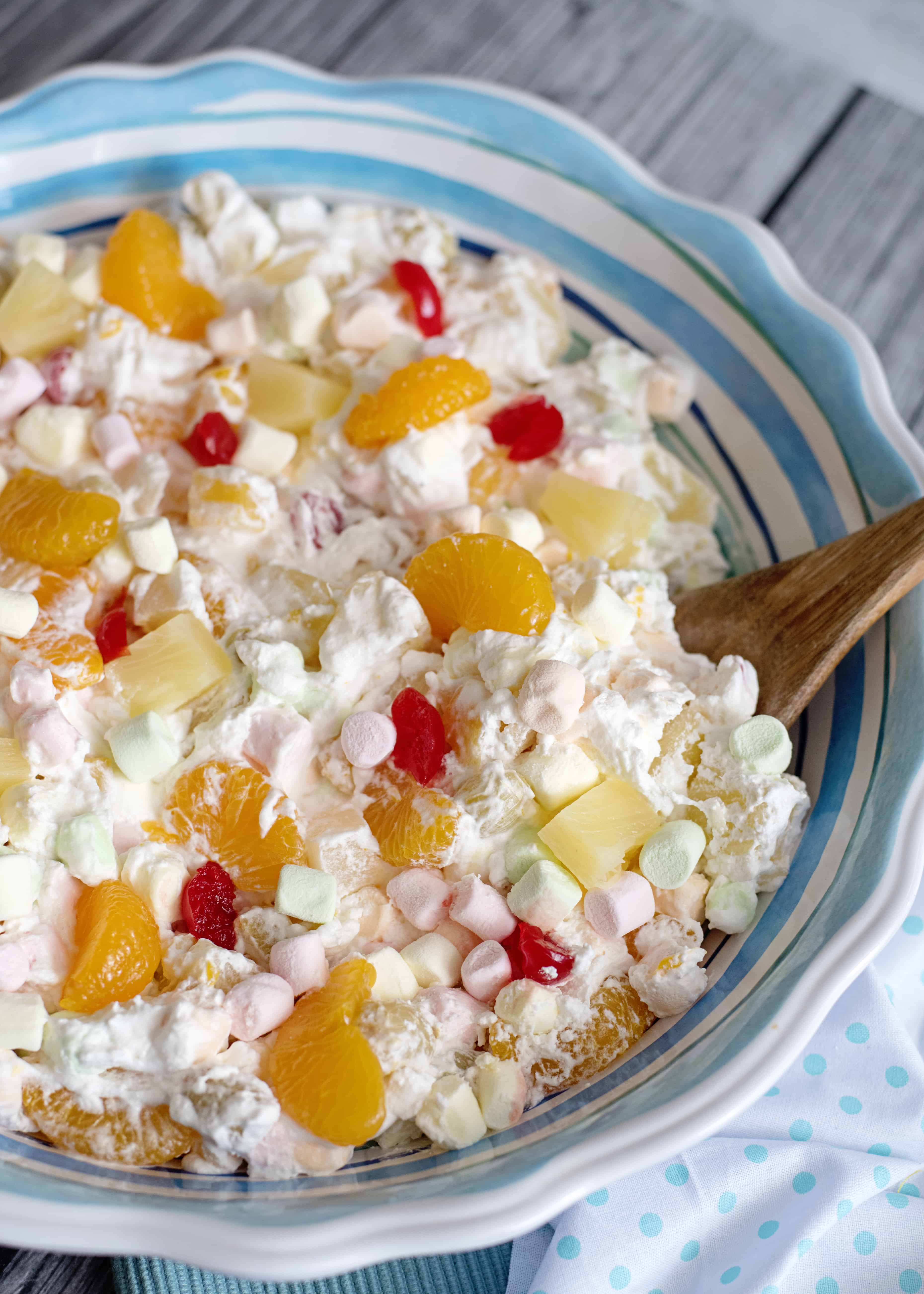 five cup fruit salad  southern plate